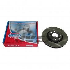 """Диск тормозной """"EuroEx"""" LANOS (Для колесного диска размером 14 дюймов)"""