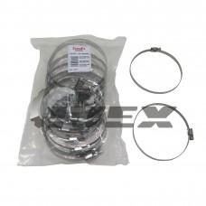 """Хомут нерж. """"EuroEx"""" EX-GTC 110-130/9W2  (уп-25шт)"""
