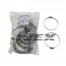 "Хомут нерж. ""EuroEx"" EX-GTC 80-100/9W2 (возд.патрубки)  (уп-25шт)"