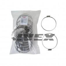 """Хомут нерж. """"EuroEx"""" EX-GTC  90-110/9W2  (уп-25шт)"""